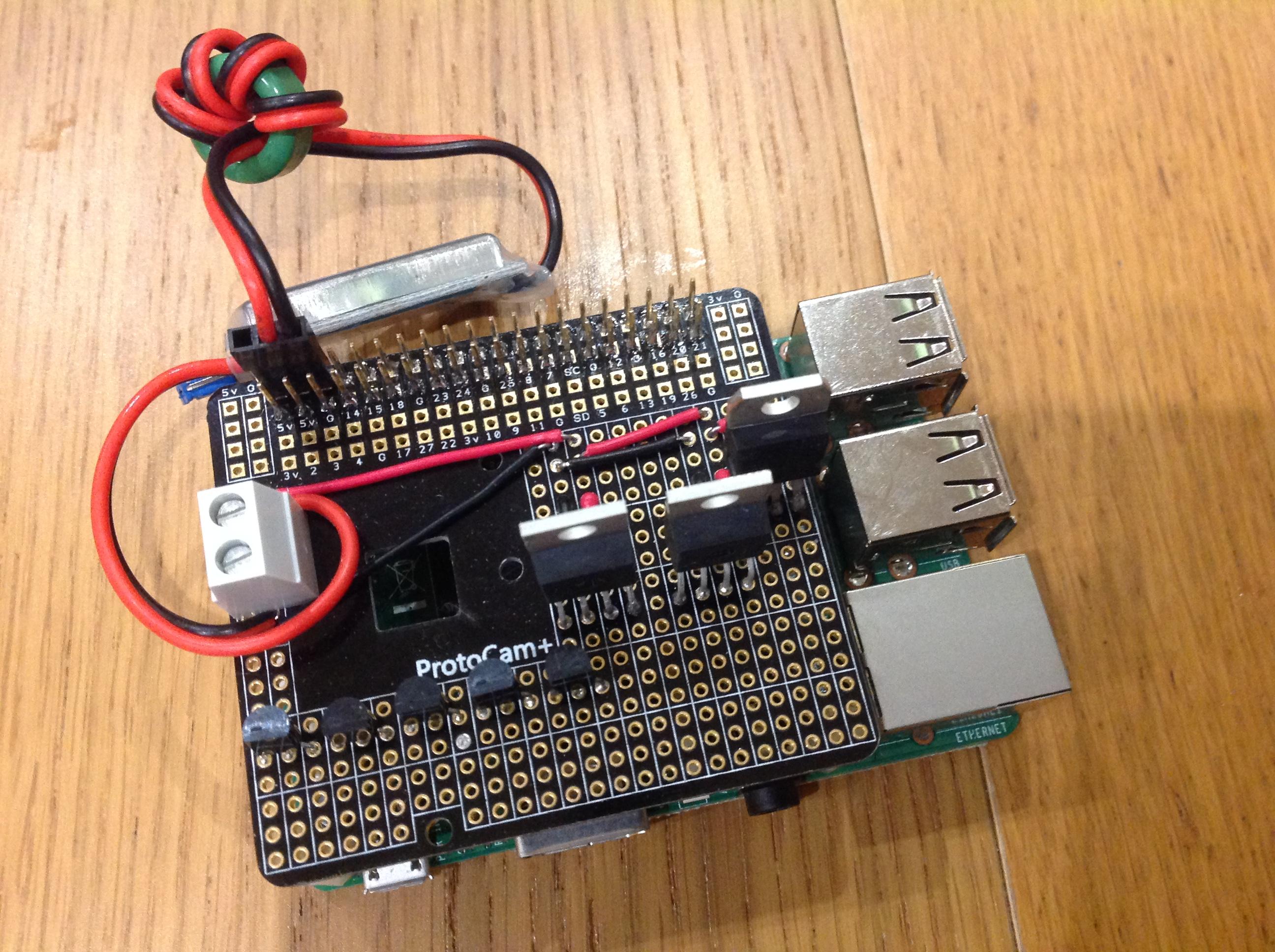 Protocam+ on Pi3