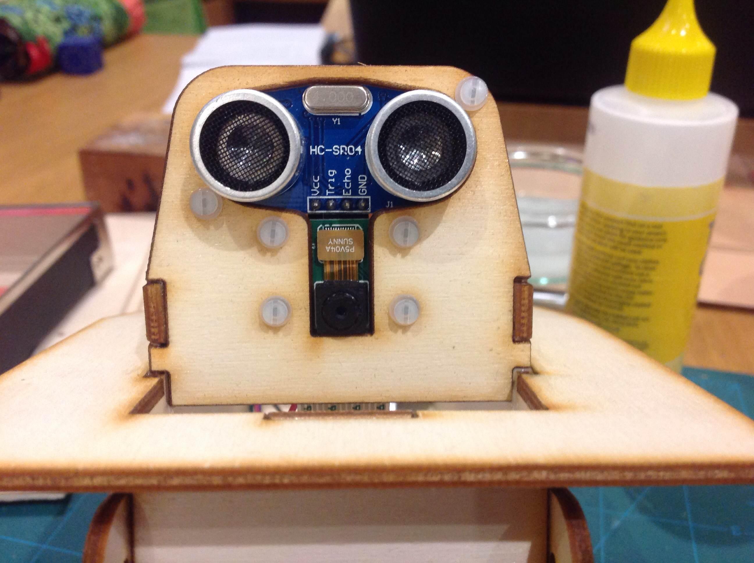 KEITH MK4 front sensors